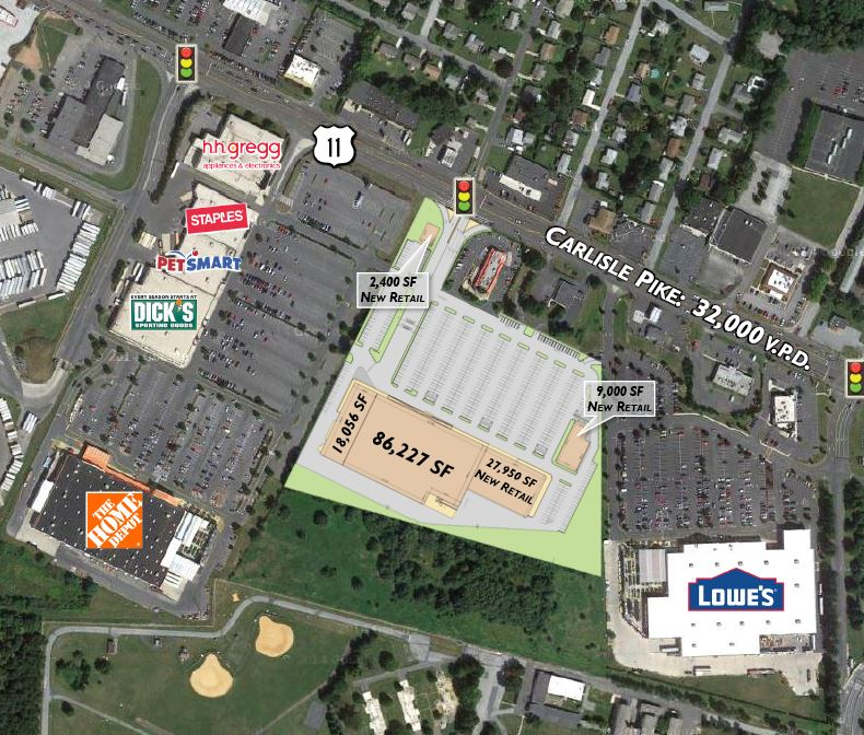 Redevelopment of kmart mechanicsburg wrdc for Home goods carlisle pike
